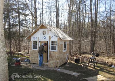 "My husband built the ""Little Deuce Coop."""