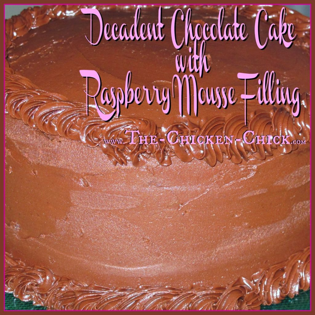 My personal quest for the perfect chocolate raspberry cake had fallen flat for years, so I took matters into my own hands and concocted this chocolate layer cake with raspberry mousse filling and triple chocolate frosting from a wide array of recipes. The ingredients list is lengthy, but sooo worth the investment!