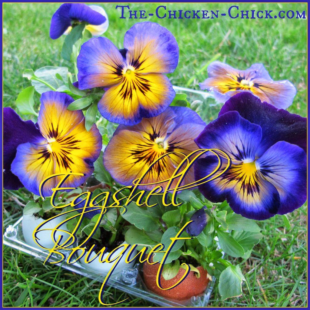 DIY Eggshell Bouquets