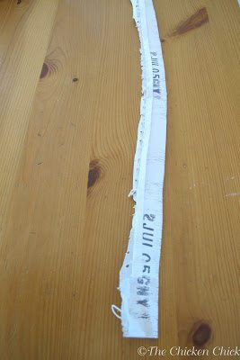 Each bag of chicken feed has a tag sewn to it that lists the type of feed, nutrition information and the lot code for that particular feed. The lot code allows the feed to be tracked back to the manufacturer when problems arise. If your feed bag also has a date code stamped on the bottom of the sewn edge of the bag, save that too.