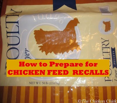 Most of us bring home bags of feed, empty them out into storage containers and throw away the ingredient tag, but that is a mistake. The feed bag tag contains valuable information about the production date, facility and batch. When opening a new bag of chicken feed, save the tag that is sewn into the seam and toss it on top of the feed bin.