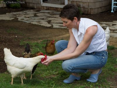 A good rule of thumb is: if you shouldn't eat it, your pet chickens shouldn't either (mealworms, insects and dirt notwithstanding).