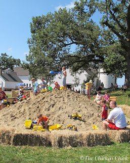 potato digging
