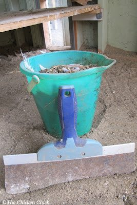 Each morning, I take my trusty beach pail and scrape the droppings into it with a taping knife. The droppings are then added directly to my compost pile. Droppings boards keep the litter/bedding cleaner, which means less frequent litter changes and less frequent litter changes result in time and money savings.
