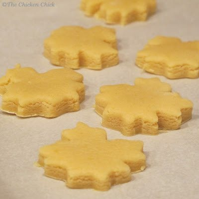 Lemon Sugar Cookies. No Refrigeration required