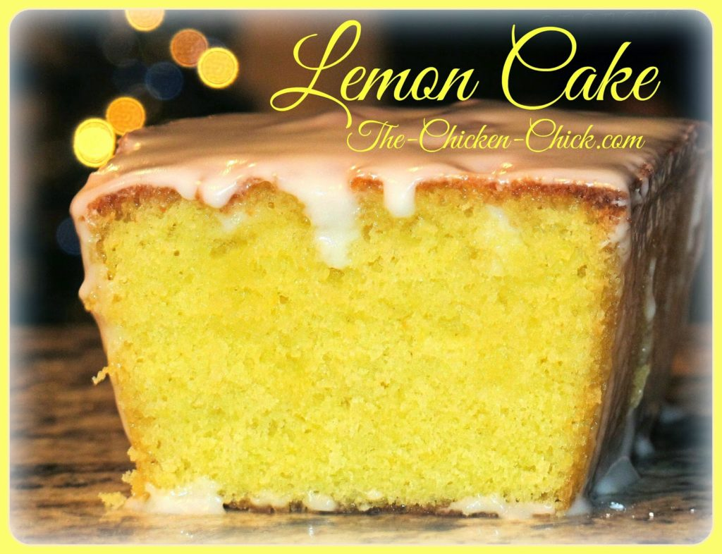 Even if you don't have blood sugar issues, you're going to want to have insulin on-hand just to read this recipe for lemon cake!