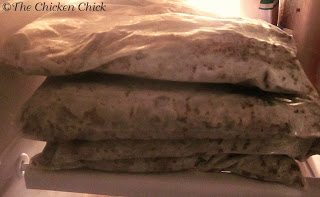 Brown large quantities of ground beef, drain off fat and freeze FLAT in individual zip bags.
