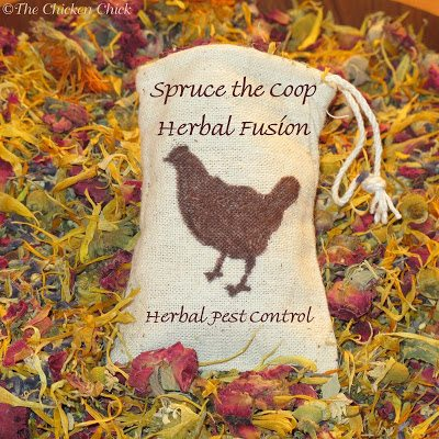 Add a little Spruce the Coop Herbal Fusion to the nest and you've got smell-o-vision!