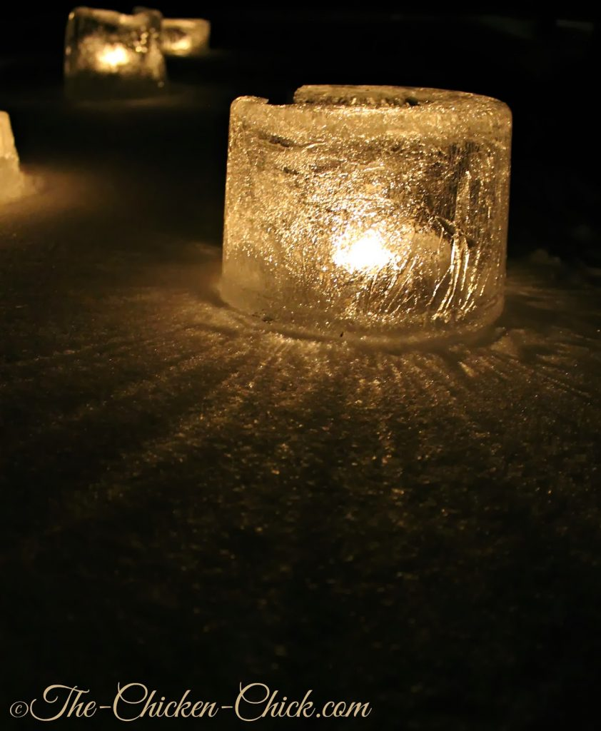 DIY Ice Lantern instructions