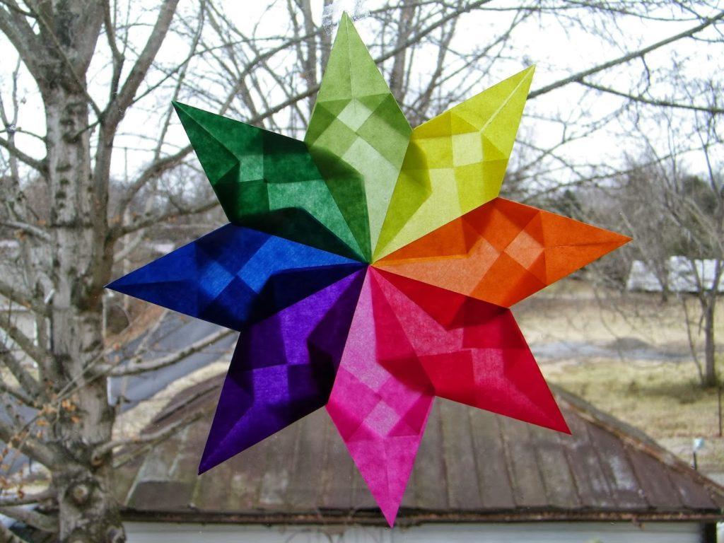 Pinwheel Window Star