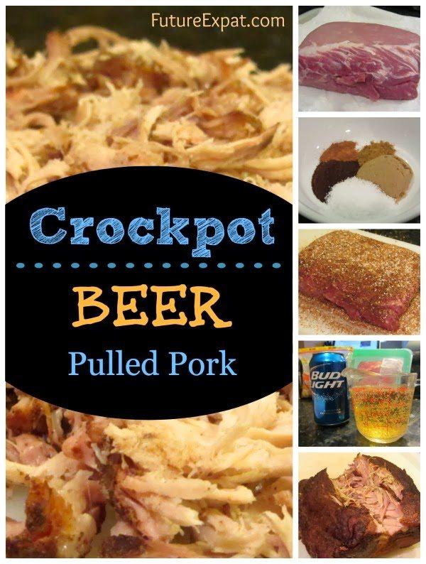 Crockpot Beer Pulled Pork
