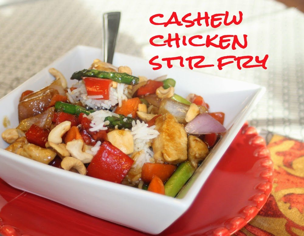Cashew Chicken Stir Fry, shared by Love Food, Will Share