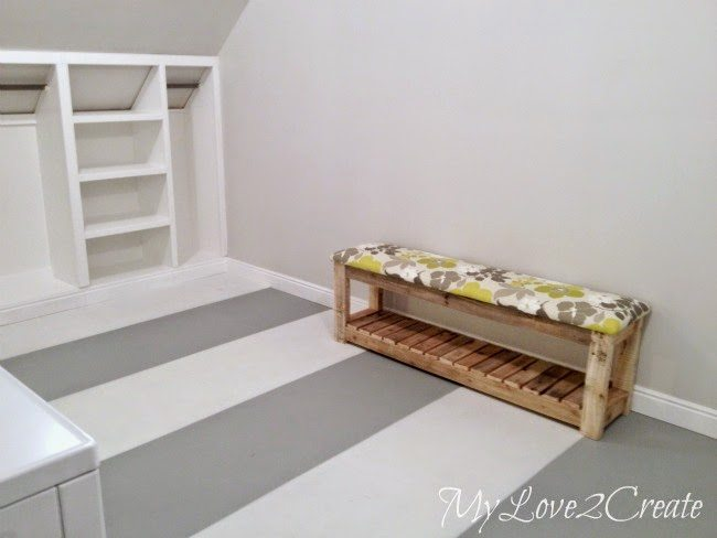 How to Paint a Subfloor, shared by My Love 2 Create