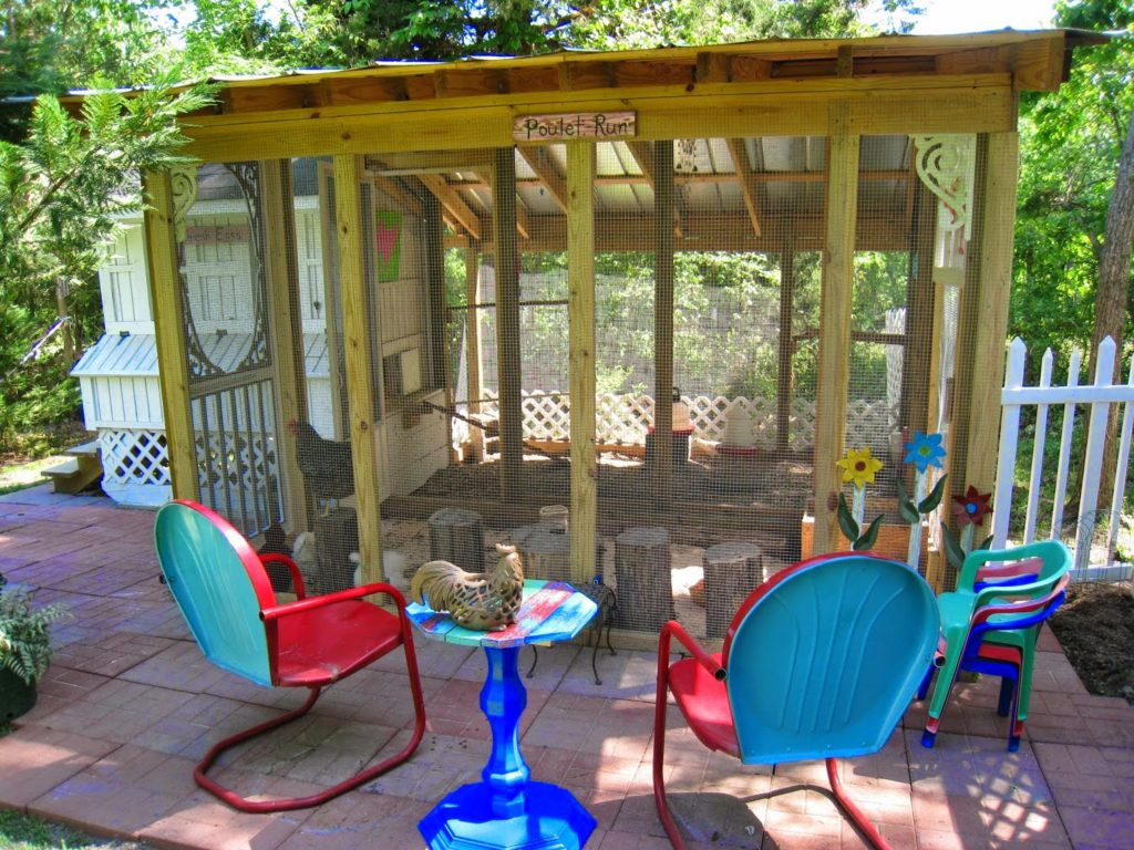Adding a New Run & Patio to the Taj Mahal, shared by Repurposed for Life