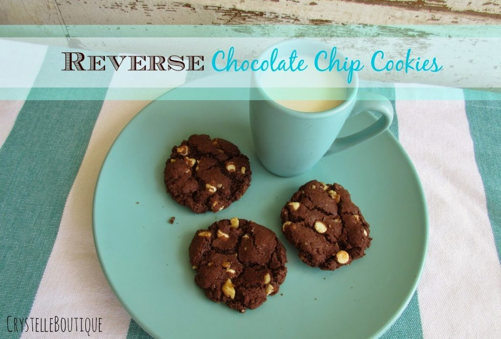 Reverse Chocolate Chip Cookies, shared by Crystelle Boutique