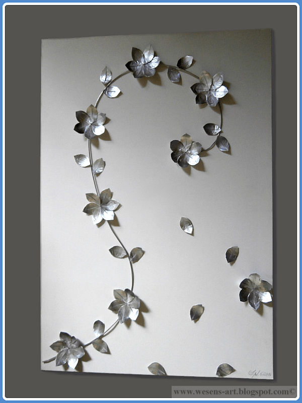 Recycled Tea Light Art, shared by Wesens-Art