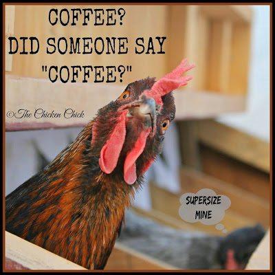 """Coffee? Did someone say """"COFFEE?"""""""