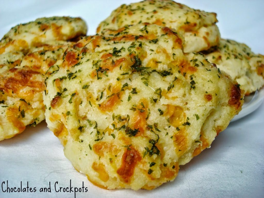 Cheddar Bay Biscuits, shared by Chocolates and Crockpots