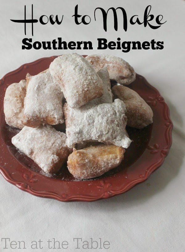 Beignets, shared by Ten at the Table