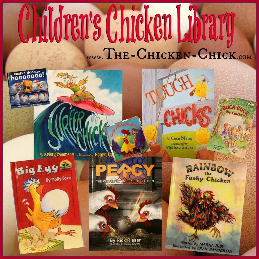 Children's Chicken Library- favorite children's books