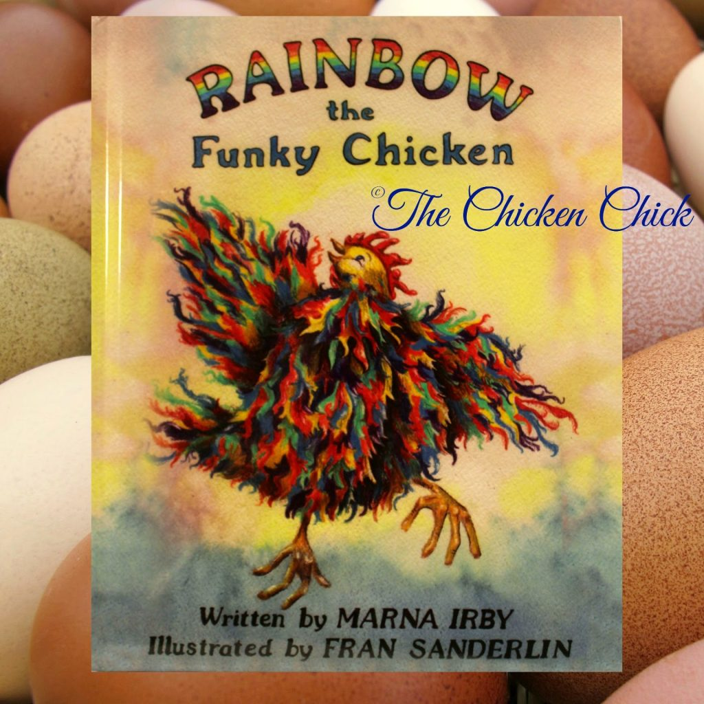 Rainbow the Funky Chicken