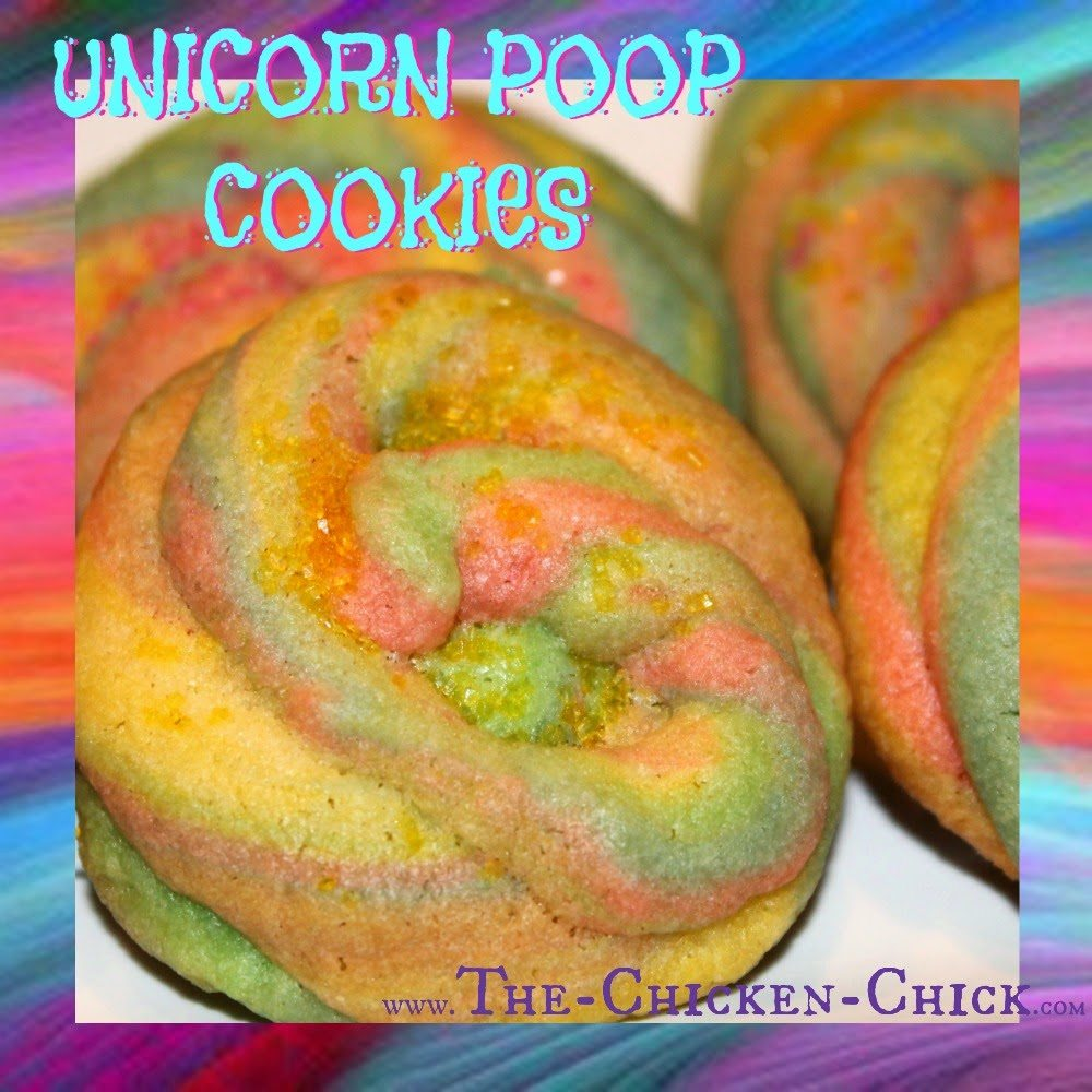 Unicorn Poop Cookies Tutorial