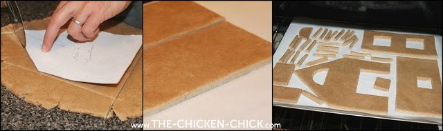 Gingerbread Chicken Coop by The Chicken Chick®