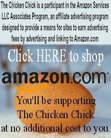 Amazon Affiliate disclosure statement at The Chicken Chick®