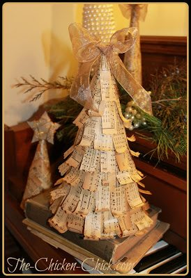 Vintage Christmas Trees, via The Chicken Chick®