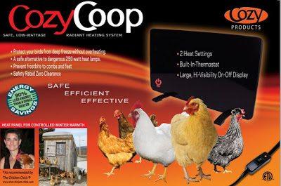 Cozy Coop Radiant Heater