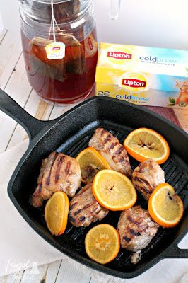 5 Spice, Orange Brined Chicken, shared by Frugal Foodie Mama at The Chicken Chick's Clever Chicks Blog Hop