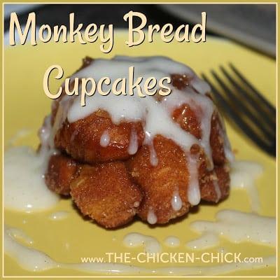 Monkey Bread Cupcakes (Cinnamon Sugar Pull-apart Bread)