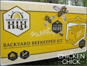 Backyard Beekeeper Kit from Harvest Lane Honey